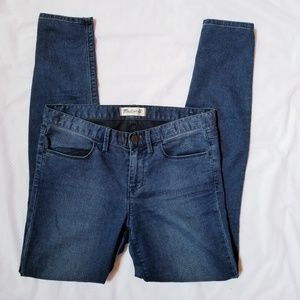 Madewell Legging Denim mid rise skinny pants